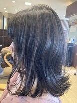 アッシュ アーティスティック スタジオ オブ ヘア(Ash artistic studio of hair)ハイライト×ブルー