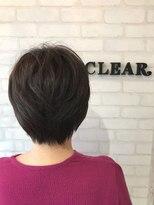 ヘアーアンドメイククリアー(Hair&Make CLEAR)大人ショートスタイル