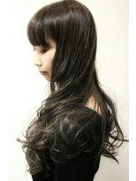 デコヘアー(DECO HAIR)グレージュスタイルシークレットカラー