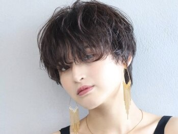 ヴィラ(VILLA / 92co.)の写真/360°綺麗でダメージレスなカット☆ベースのカット技術が高いから自分でも簡単に再現できるヘアに♪
