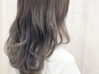 ヘアーサロンアズール(Hair Salon Azure)の写真/【カット+アディクシー+TOKIO¥7900★】柔らかい質感と透明感たっぷりな色味が叶います♪