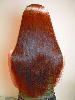 リーベンデールの写真/今までの髪とは違う♪くせ毛だった自分の髪の毛をツルんとしたサラサラストレートで自然なまとまりに!!