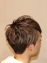 クロシェット ヘアー(Clochette hair)ツーブロックスマートマッシュ
