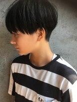 透明感ショートボブ×黒髪ナチュラル