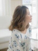 ヘアーサロンウフ(hair salon Oeuf)大人可愛い透け感たっぷりカラー