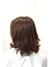 リリーフ ヘア(ReLIEF hair)伸ばしている方へオススメのティップカールスタイル