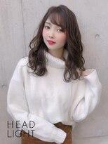フローレス バイ ヘッドライト 三鷹店(hair flores by HEADLIGHT)ナチュラルウェーブ×フォギーベージュ
