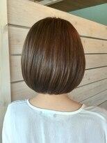 ヘアサロンアンドリラクゼーション マハナ(Hair salon&Relaxation mahana)お手入れ簡単内巻きボブ♪ナチュラルブラウン*