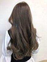 ナナナパレナ 梅田店(nanana parena)髪質改善・透け感とツヤ感のあるオリーブベージュ♪