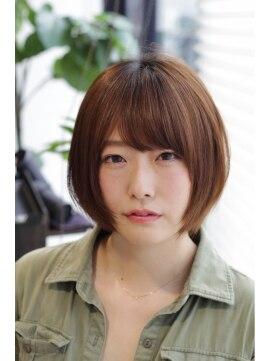 ラエティス(Laetus)小顔カットで魅せる愛されラフかわいいボブ☆