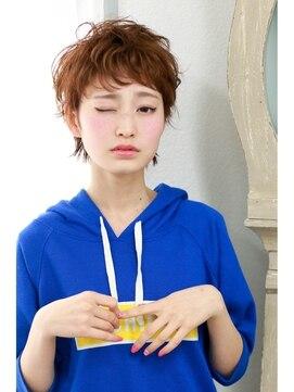イクシェル 川西店(IXCHEL)【IXCHEL】エラン☆ガーリーショート