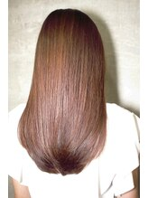 アンカラン(un Calin)髪質改善で輝く髪サラサラ質感♪透明感シルキーストレート