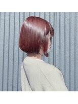 ネオヘアー 東向島店(NEO Hair)きりっぱなしボブ×桜カラー