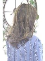 ヘアーサロン エール 原宿(hair salon ailes)(ailes 原宿)style303 カーキグレージュ