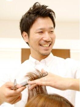 トリッシュ ヘアー(Triche Hair)の写真/男性スタイリストのみ在籍!!気さくな雰囲気&高い技術にメンズ支持◎行きつけサロンを探している方は必見♪