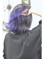 ヘアーサロン エール 原宿(hair salon ailes)(ailes原宿)style320 グラデーション☆ブルーバイオレット