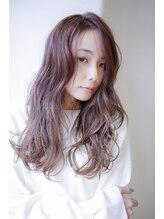 ヴィークス ヘア(vicus hair)(秋冬オススメ)ラベンダーグレージュ×大人ロング by田渕英和