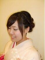 ファルコヘア 立川店(FALCO hair)着物でお呼ばれセット