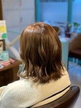 ケーズヘアー 緑が丘店(k's hair)ミルクティーグレージュカラー