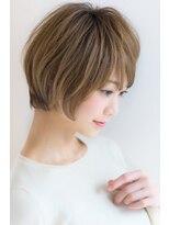 リル ヘアーデザイン(Rire hair design)【Rire-銀座】シルエット◎ナチュラルショート