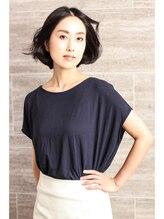 ステラ(STeLLa)【京橋】40歳からの風になびく華やかボブ