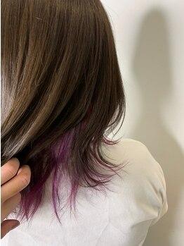 ヘアー アンヴォーグ(hair en Vogue)の写真/en Vogueのオススメは《3Dカラー》!! ハイライトやローライトをMIXさせていつもとちょっと違う雰囲気に♪