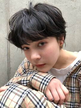 ヘアサロンエムピーズ イケブクロ(HAIR SALON M P's 池袋)マッシュ☆ショート