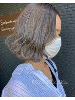 ヘアアンドビューティー クローバー(Hair&Beauty Clover)アッシュグレージュ