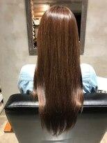 クレエ ヘアー デザイン(creer hair design)毛先まで輝くツヤカラー