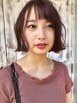 エル(ailes)☆秋☆ピンクブラウンBOB◎