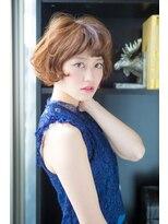 アッシュタカサキ(ash takasaki)20代30代 大人かわいい外国人風無造作ショート