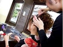 レンタル着物夢美人の雰囲気(ヘアセット専門美容師在籍!プロの技術を体験してみて♪)