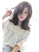 ヘアーサロン エール 原宿(hair salon ailes)(ailes原宿)style250 デザインカラー☆シルキーシフォン