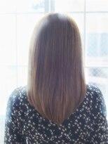ジュール 銀座 ヘアラウンジ(Joule Hair Lounge)秋っぽミディ×iNOAブランジュカラー [銀座]