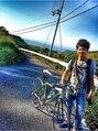 エルフォ(elfo)愛車は、ロードバイクです。休日は、サイクリングもします。