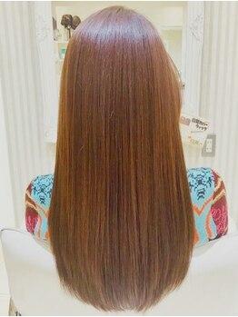 ギンザ ヘアー シロー(Ginza hair CIRO)の写真/薬剤や熱処理を使わずくせ毛のお悩みを解決する《CIRO》のリビジョン!長さを変えたくない方にもおすすめ!
