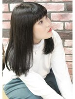 イーリス(IriS)【高田馬場美容室】自然な黒髪ヘア☆
