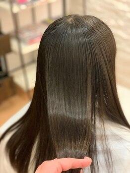 """カーラ サロン(Carra Salon)の写真/【JR尼崎駅5分】Badensシステムトリートメントで,艶感はもちろん""""しっとりさらさら""""とした美髪が手に入る♪"""