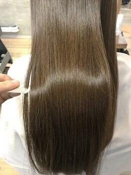 エンジェル 青葉台(ANGEL)の写真/自慢のトリートメントで髪質改善◎極上のツヤ髪へ。髪質に合ったケアで大人女性のお悩みを解決★