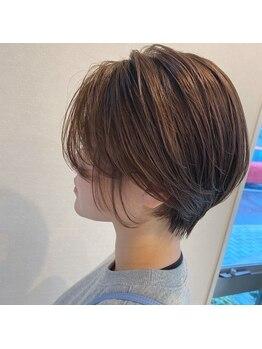 コレロ ヘアー(KORERO hair)の写真/【楽々園】理想のスタイルにトレンドもミックスさせた、あなただけの最旬スタイルを発見できます