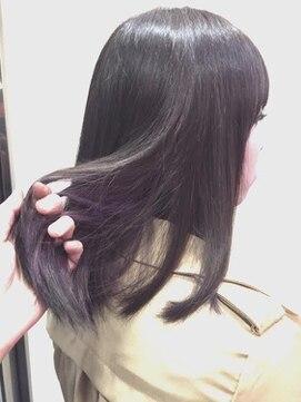 エルミタージュ(Hermitage) 「紫のインナーカラーで見えないオシャレ」