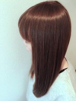 コミュニヘア(communi Hair)の写真/【大人気★アローブトリートメント】豊富な薬剤から髪質に合わせて選定。お好みの仕上がりに合わせた髪質へ