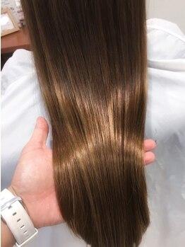 シエル 戸塚店(CIEL)の写真/髪質改善に特化した<最新トリートメント>取扱店!ひどく傷んだ髪も潤いのある美髪に…♪