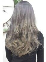 ヘアーサロン エール 原宿(hair salon ailes)(ailes原宿)style283 デザインカラー☆ブロンドシルバー