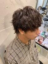 【YUKI】ショートウルフ×パーマ