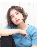 ヘアー フレイス メイク(Hair Frais Make)ゆるくしゃショート×クラシカルヘア【フレイス横浜】