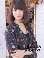 LAGOON ALIVE 新田希望 1227 ☆小顔カット × ラベージュ☆