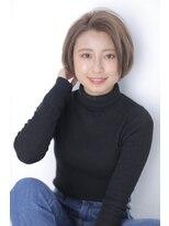 ジーナシンジュク(Zina SHINJYUKU)☆Zina☆クールショートボブ