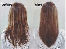あなた史上最高の髪へ導く近道・・・アークワンのインフェノム髪質改善トリートメント×高濃度コラーゲンで