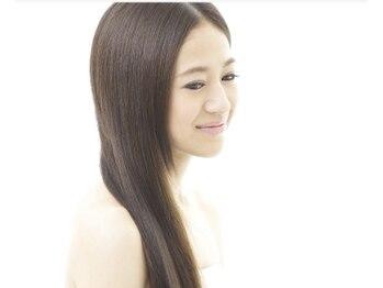 デザインヘア エーライン(A-Line)の写真/【話題の髪質改善・酸熱トリートメント¥8,800♪】くせ毛乾燥毛を軽減し広がり凸凹をやわらげ艶々ヘアに。